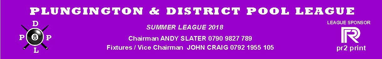 Plungington & District Pool League