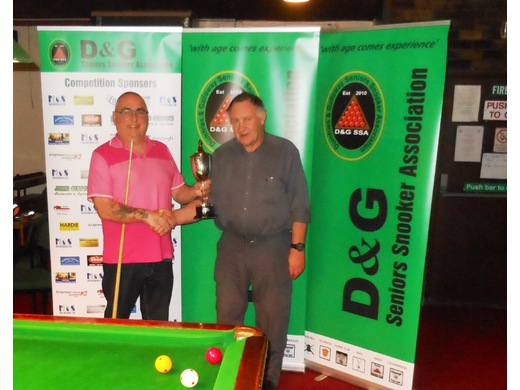BILLIARDS CHAMPIONSHIP WINNER: GLEN MUNDLE