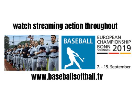 Watch the European Championship 2019