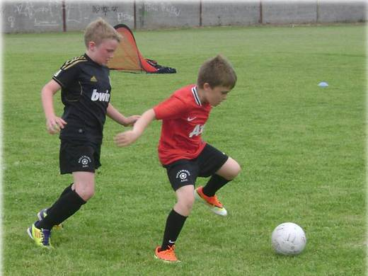 Young BallymahonAFC players