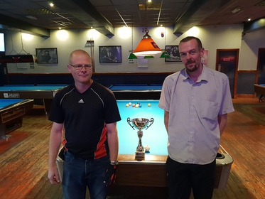 Division 3 Finalists Summer 2018, Pete Greasley & Mat Curtis