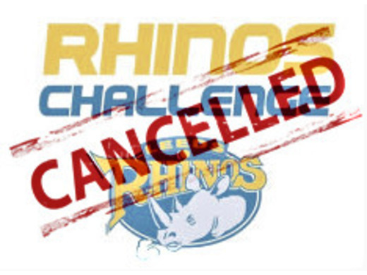 COVID-19  -  Rhinos Challenge CANCELLED