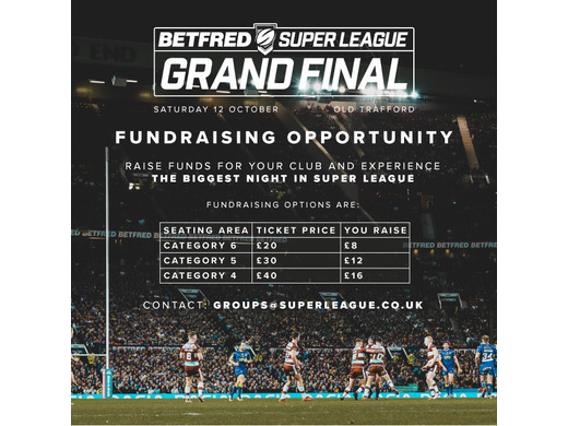 Grand Final Ticket offer