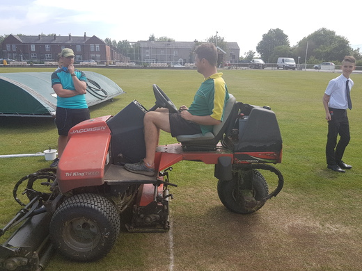 Outfield Mower Back Up & Running