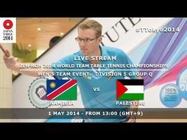 WTTTC 2014 Tokyo, Japan: Namibia vs. Palentine