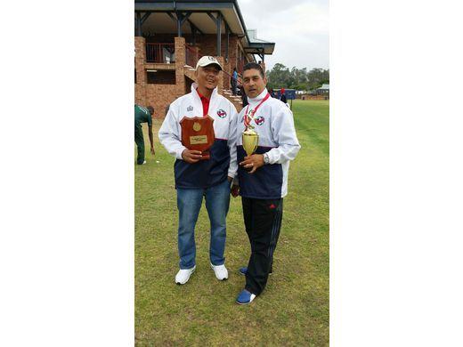 Gabriel Davids & Xavier De Sousa U16 Management Team