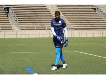 Namibia's number on goalkeeper Virgil Vries has been dropped from the Afcon squ
