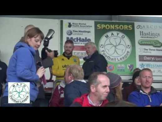 Tonra Cup Final Post match interview