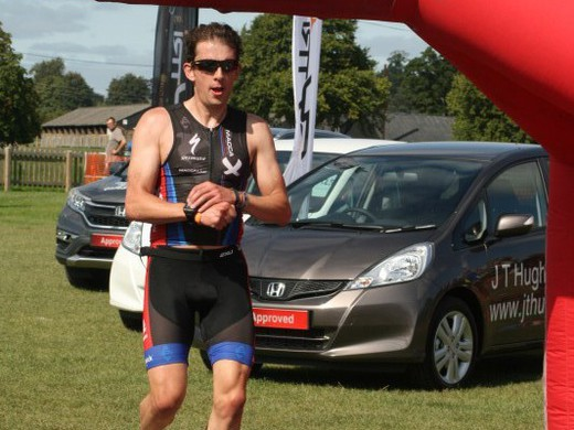 Shrewsbury Tri - run leg