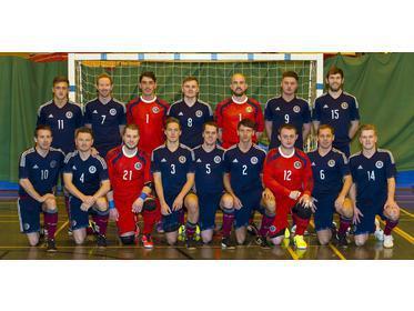 Scotland National Futsal Team 2015