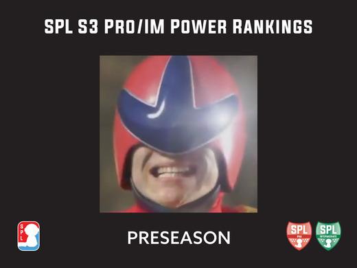 SPL S3 Pro/IM Power Rankings