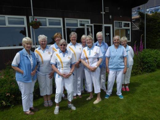 Madeira 'B' Ladies make progress in Grace Mathews Top Club
