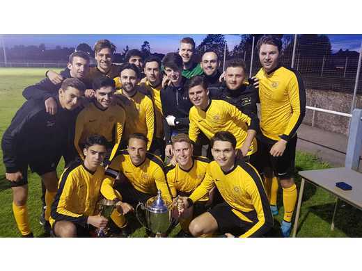 Haroldeans win the Shonn Trophy beating Sedgley in the Final 4-1