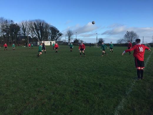 Castlelack v Bunratty Utd U16 Div1 - Jan 2017
