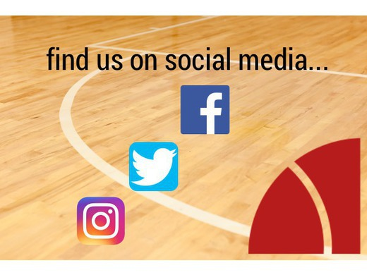find us on social media