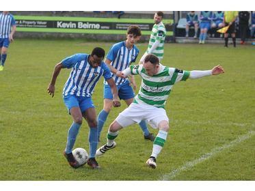 Castlebar Celtic v Ballina Town - 07/04/19