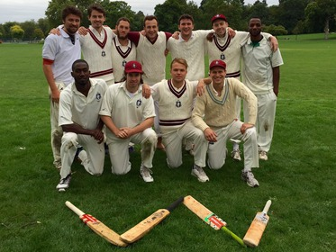 The victorious Bloody Lads side v Tower Hamlets