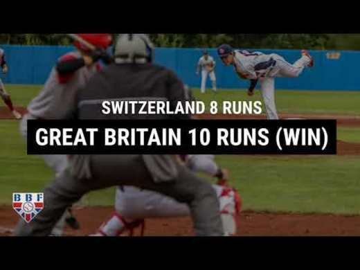 GB Baseball U18 Team wins at Euro Qualifiers Pool 1 in Sweden