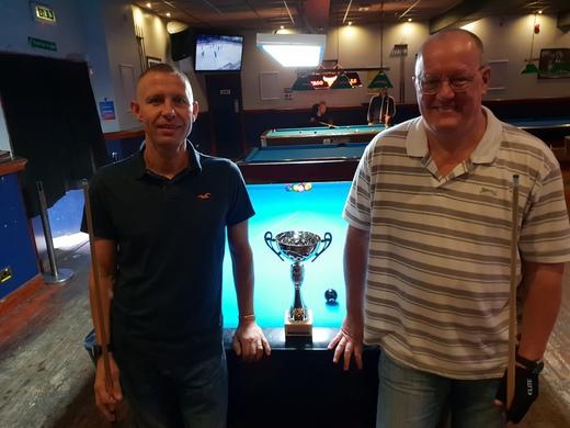 Division 1 Finalists Summer 2018, Carl Gamble & Ian Welch