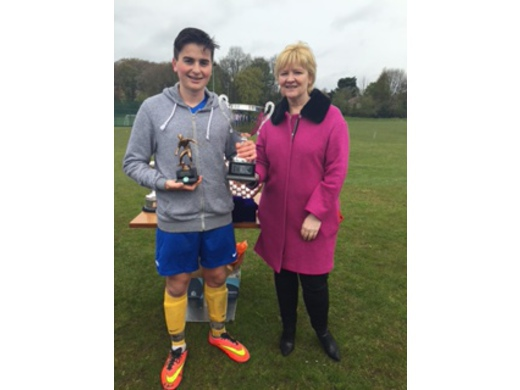 2015-16 MJSL Young Player of Year - Charlie Simpson (Maccabi Blue)
