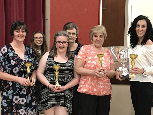 2017/18 LADIES DIVISION 2 WINNERS - FIVEFOUR