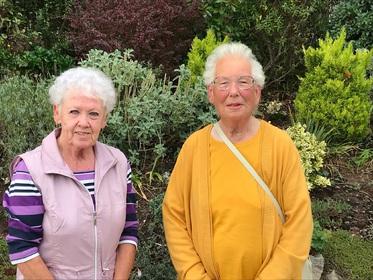 Joy Penberthy & Mavis Mears