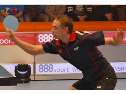 2016 Ping Pong Championship Runner Up Maxim Shmyrev (RUS).