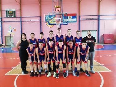 KK Budućnost BN - pioniri na finalnom turniru 2019.