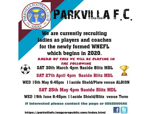 Parkvilla Womens Team