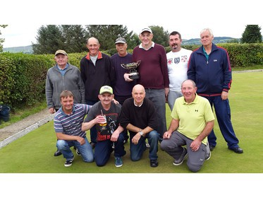 Olive Park Bowling Team 2016 Leonard Whitaker cup winners