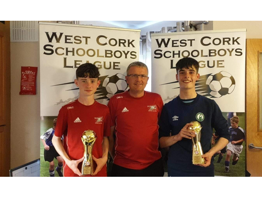 West Cork players of the tournament