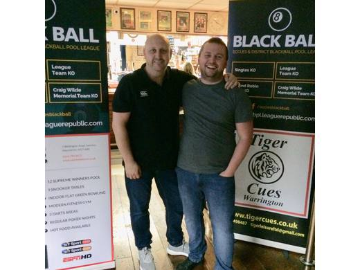 E&DBBPL Round Robin Pairs runners up - Steve Wall & Matty Knowles