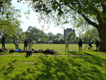 London Fields v Royal Sovereign 2014 © LovingDalston.co.uk