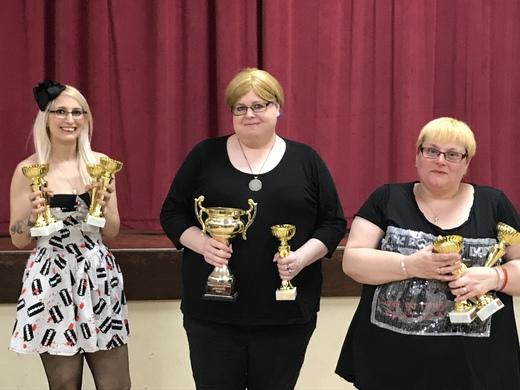 2017/18 LADIES DIVISION 1 WINNERS - RICHMOND WARRIORS