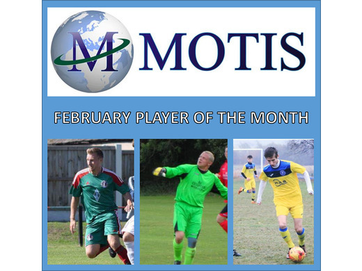 Motis Business Centre February Player of the Month