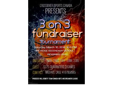 3x3 Fund Raiser Tournament