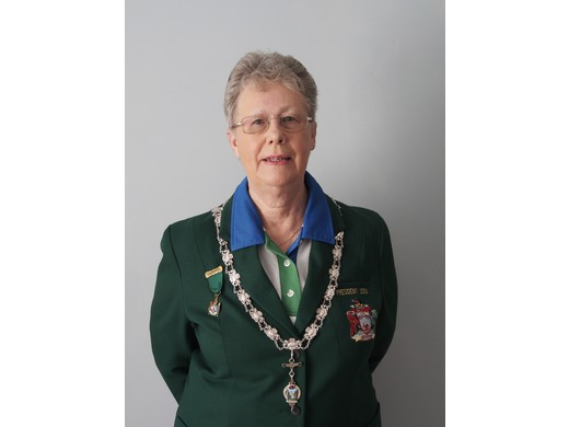 Jacky Howle is the new Bowls Devon Ladies President