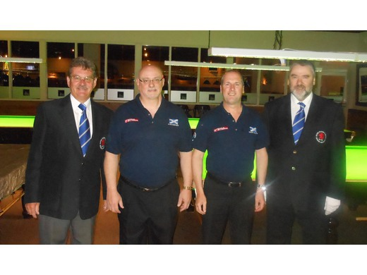 SB&SRA Referees at the World Team Billiards Championships (August)