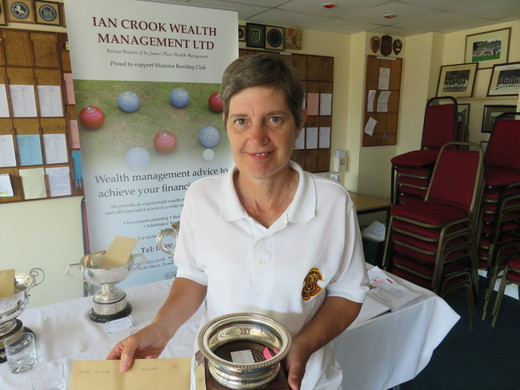 Lynn Sandoz - Ladies Singles Champion 2018