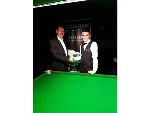 Tommy Patrick with Scottish Champion Chris Totten