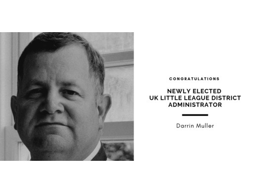 New District Administrator Elected for UK Little League