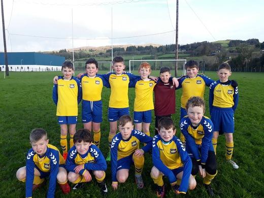 Kilmichael Rovers U12 2017-18 Season