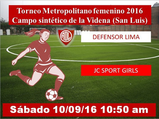 Defensor Lima vs JC Sport Girls