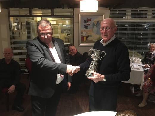 A.N. Sandell (Right), Rau Cup For Heaviest Agg Of Bream (Boat)