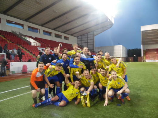 East Kilbride YM win 18/19 Presidents Cup Final