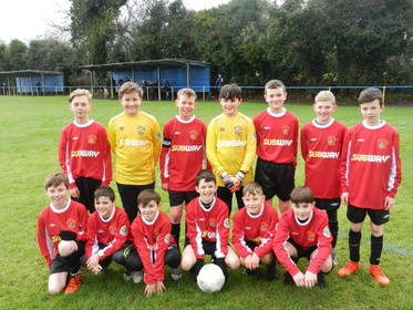 Longford U/12 Inter league squad