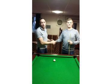 The 2017 Singles Open Finalist Mr Jason Bates Versus Mr Tony Sullivan