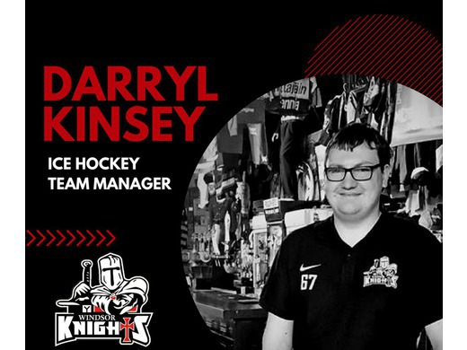 Welcome - Darryl Kinsey - Ice Hockey Team Manager