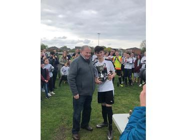 Matty Miller - MJSL Young Player of the Year (Ray Mendell Trophy) 2018-19