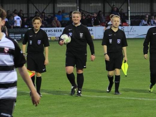 Local Referees Celebrate Promotion